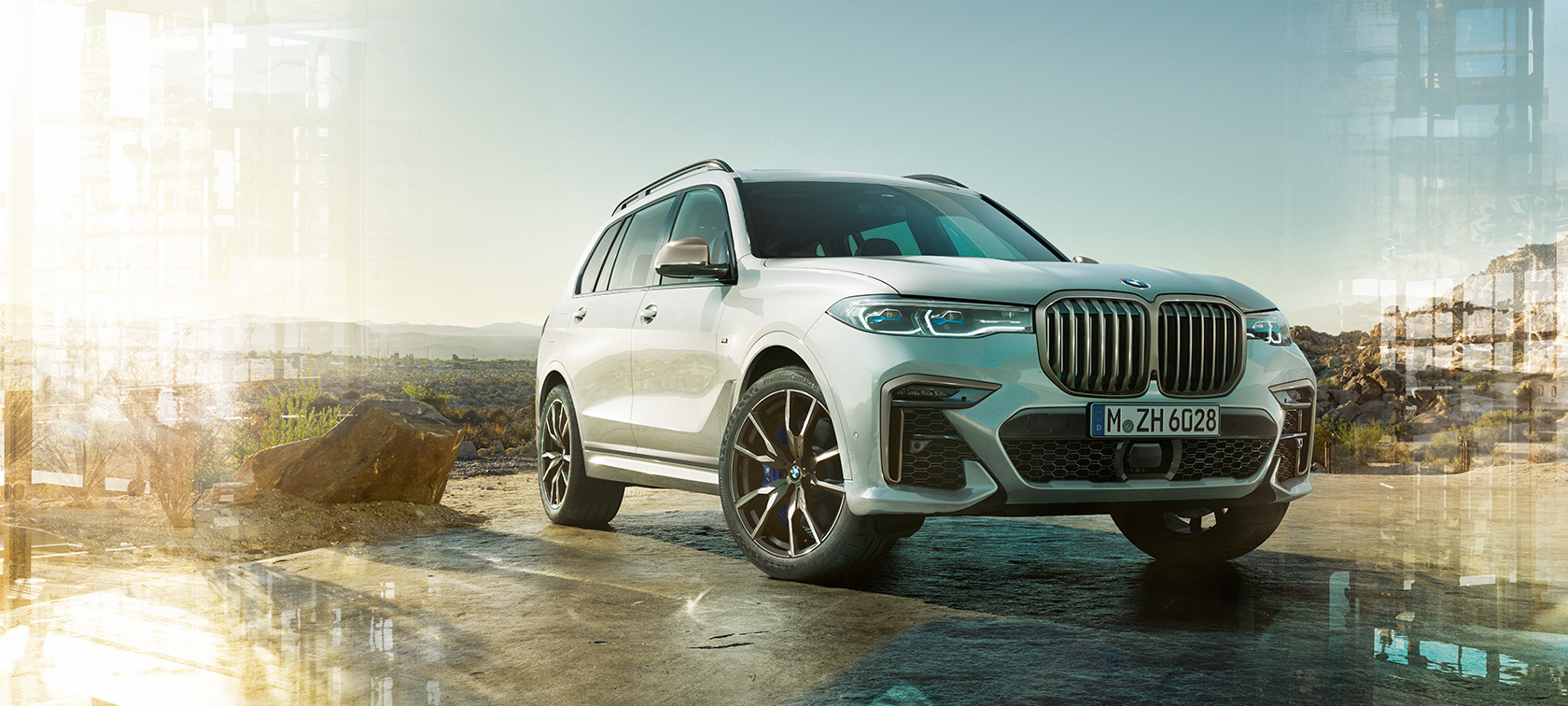BMW X7 M50d and M50i, technical data