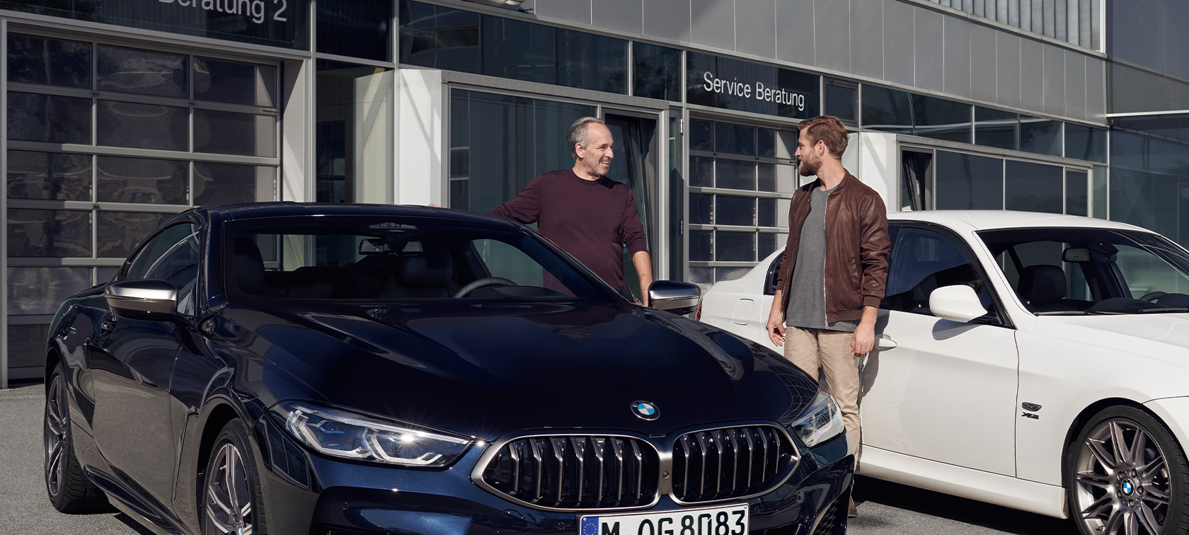 Original BMW Service BMW 8 Series Coupé BMW 4 Series Coupé satisfied BMW Service customers